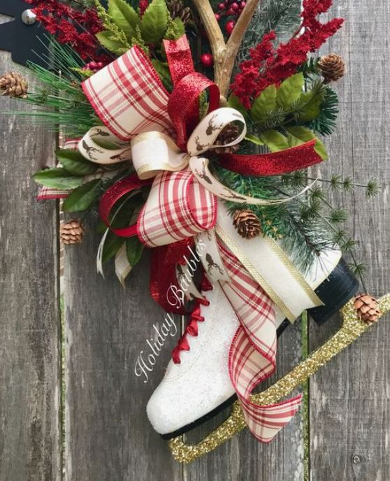 skate wreath