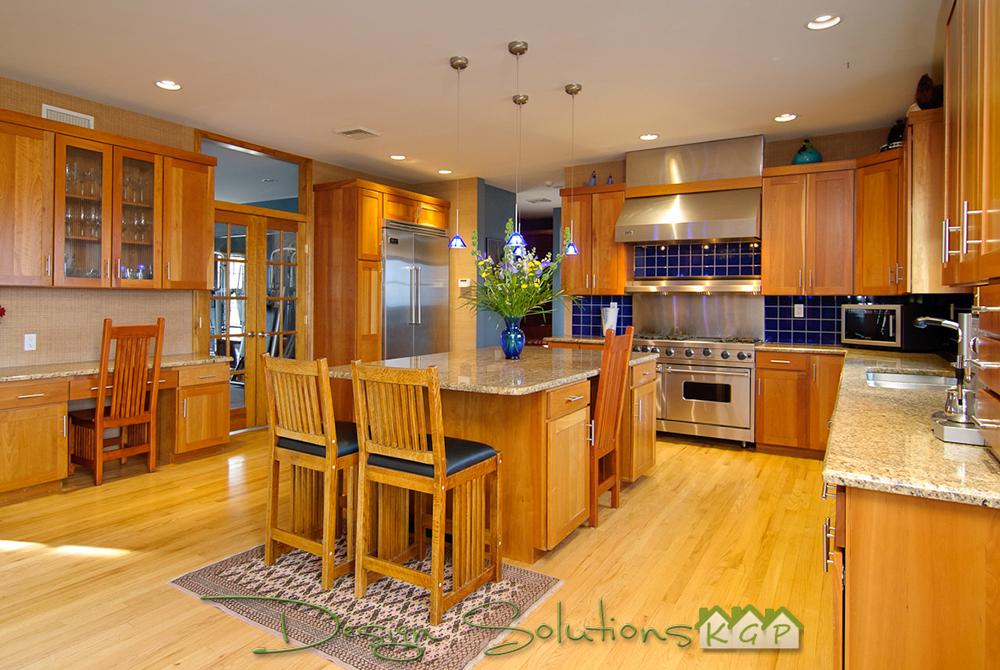 kitchen staged