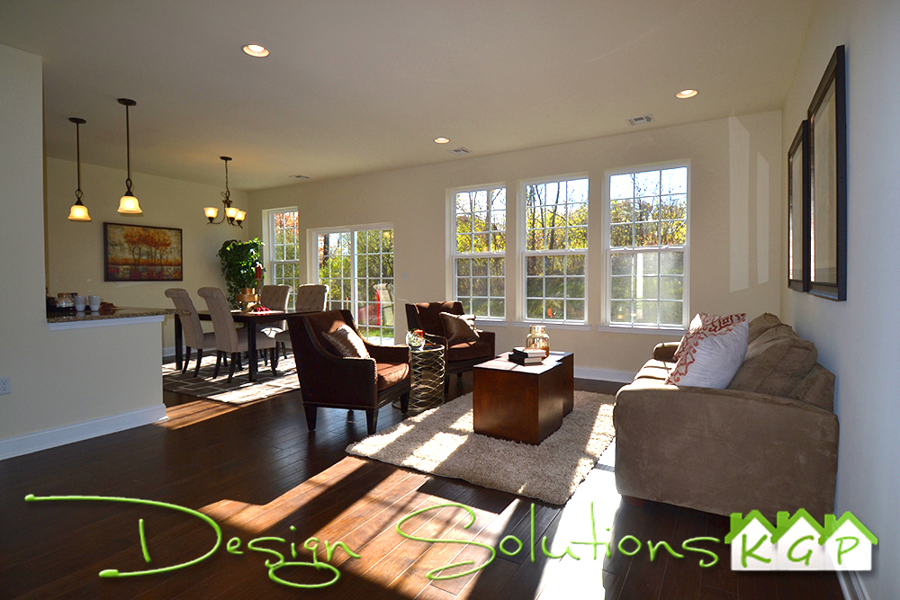 Living /Dining Room Staged