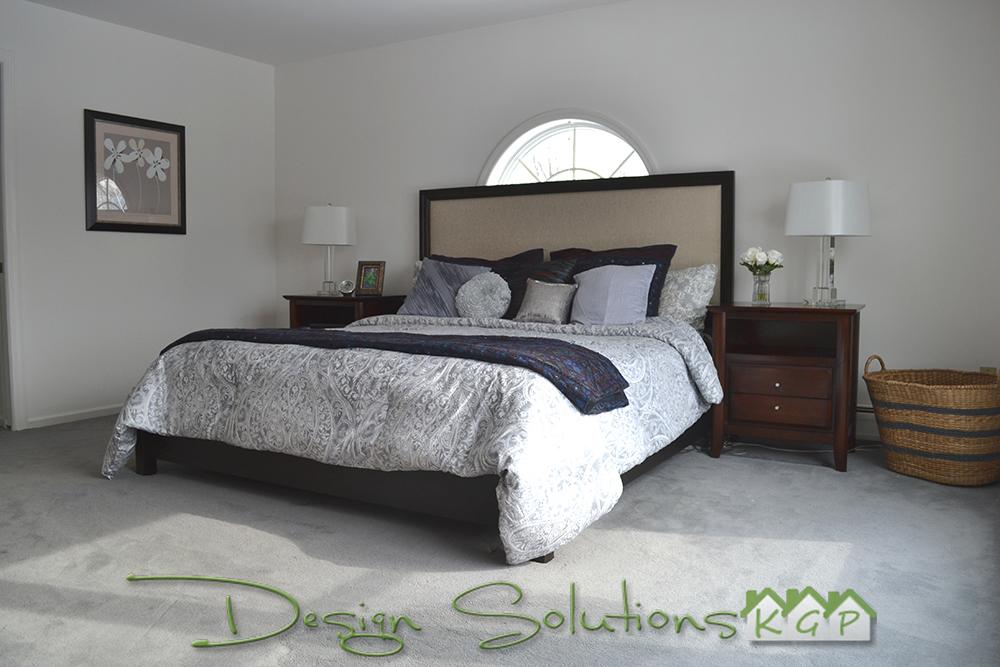 re-designed master suite
