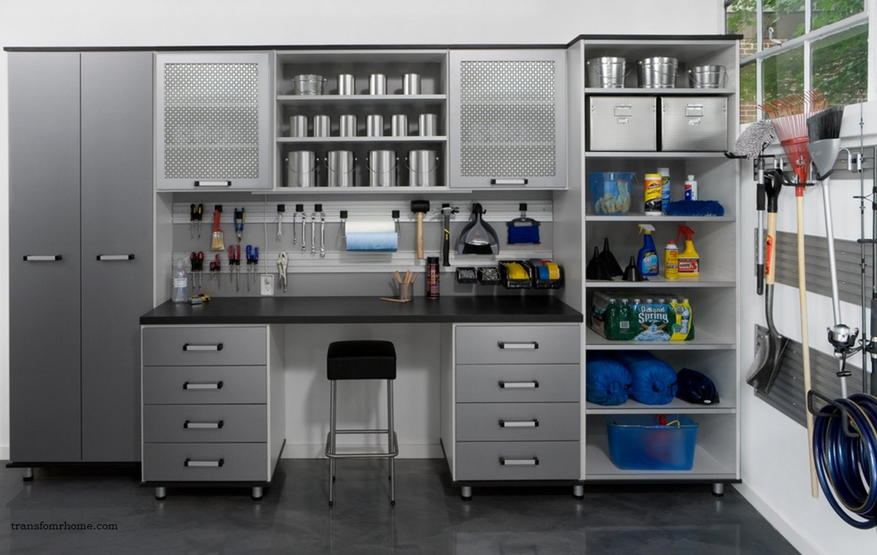 garage storage organized but still manly design solutions kgp organized garage