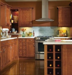 Thomasville Crofton kitchen cabinet