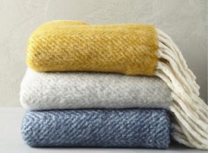 cozy up your home with a warm throw