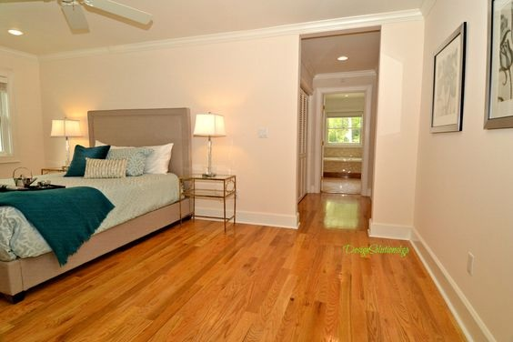 hardwood through bedroom