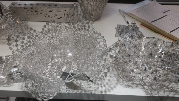 metal lace bowls