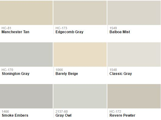 beige colors