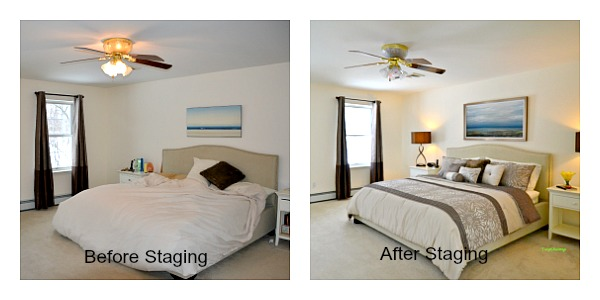 staging makes a difference when you sell