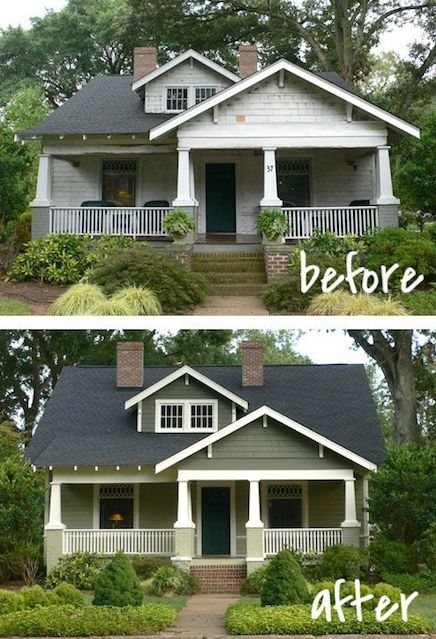 painting can greatly improve the look of your house