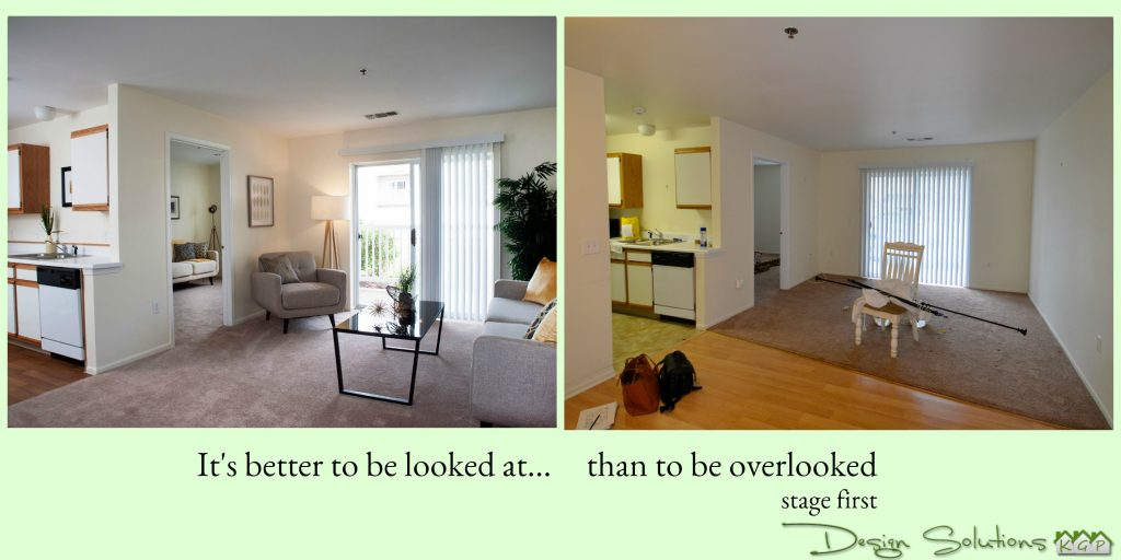 when selling make sure your house is looked at, not overlooked