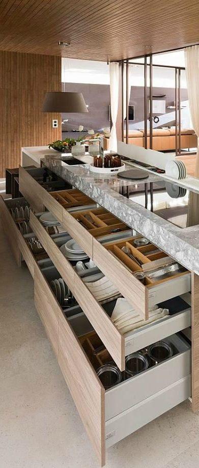 organized kitchen is inspirational