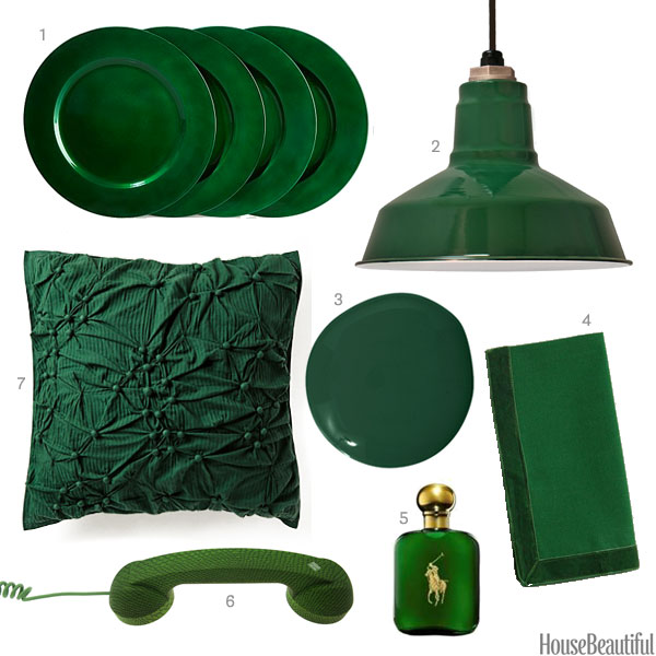 House Beautiful gree accessories