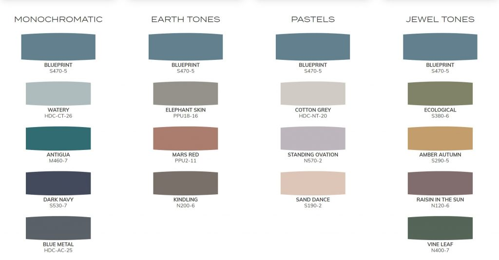choose a paint color