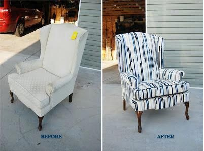 updated hand-me-down chair