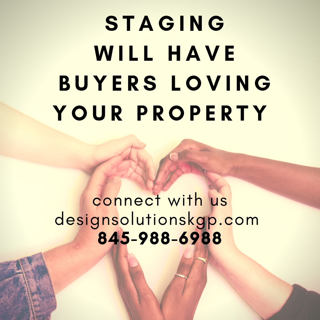 staging considers all the elements to attract buyers