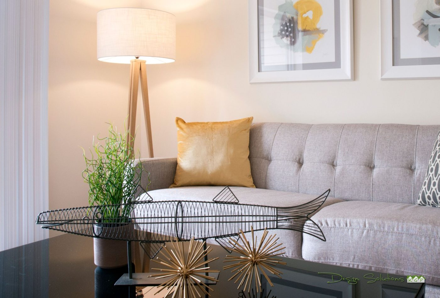 staged home to attract buyers