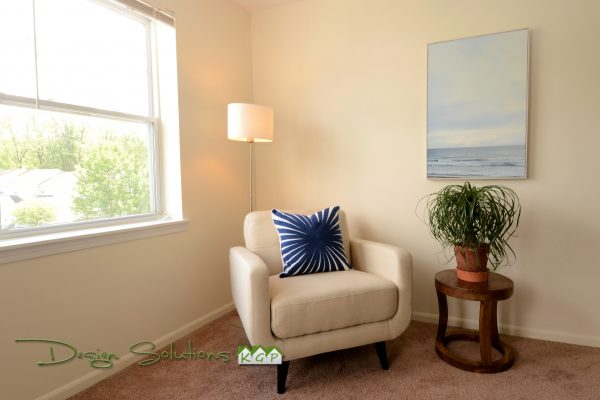 edit and enhance a room with accessories and furnishings that complement