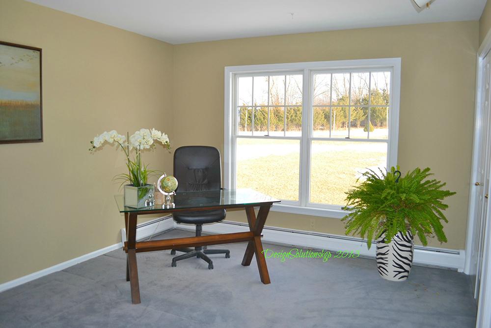Neutral paint repurposed room
