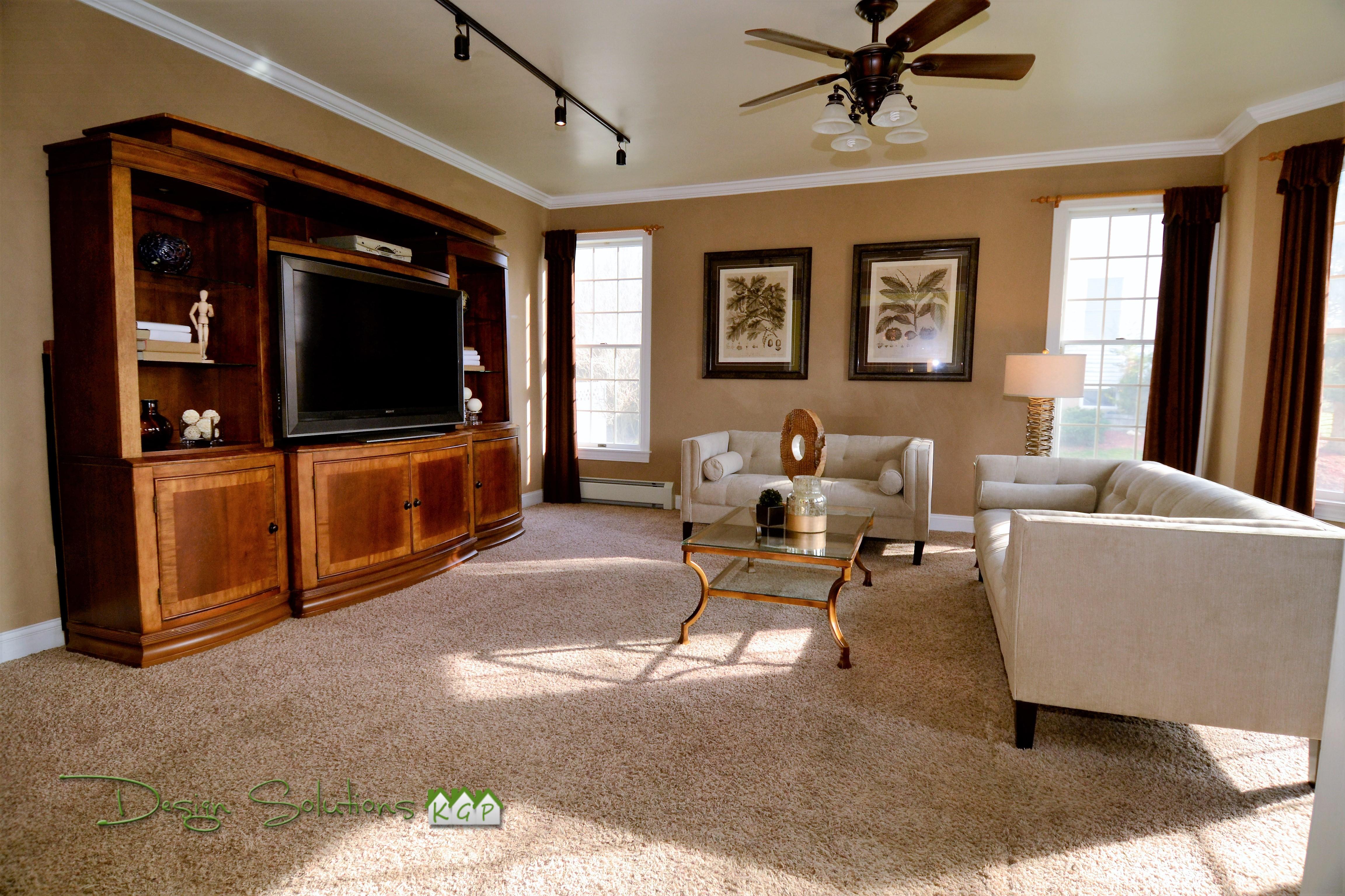 Living room styled Warwick NY