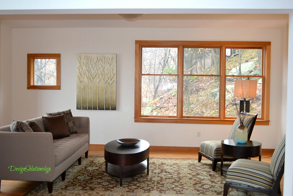 Cornwall NY Living Room Staged