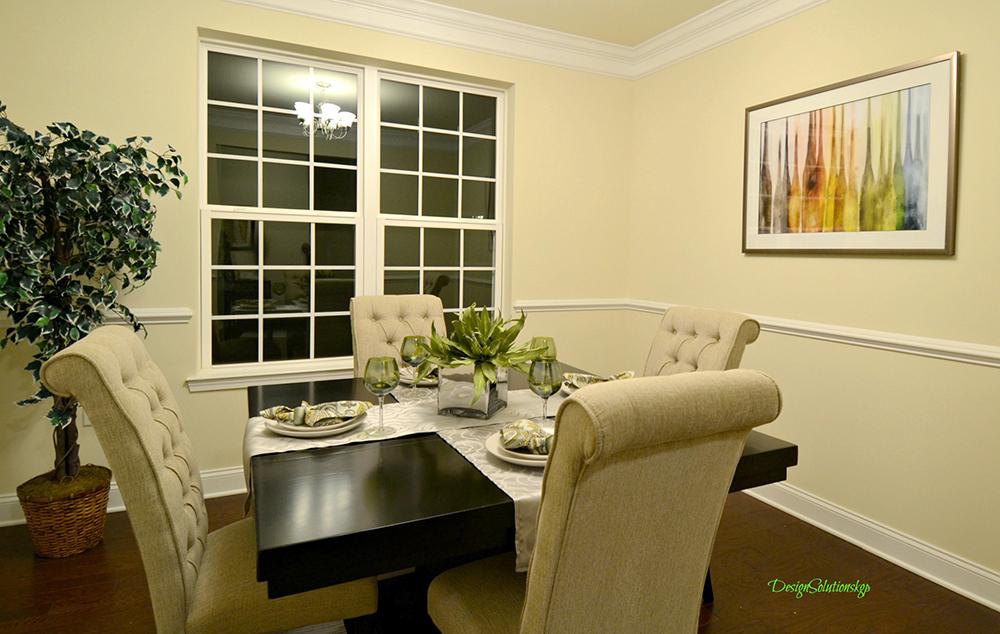 staged dining room Walkill NY