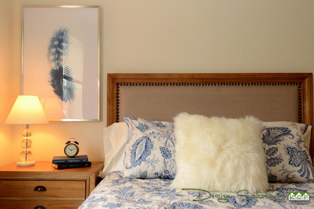 staged bedroom cornwall NY