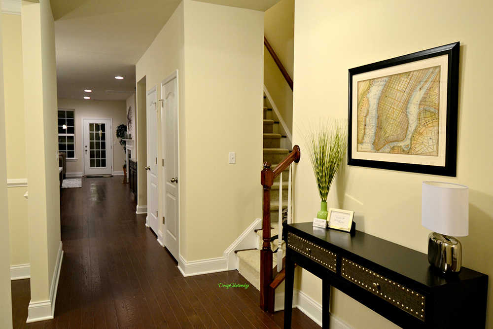 staged welcoming hall