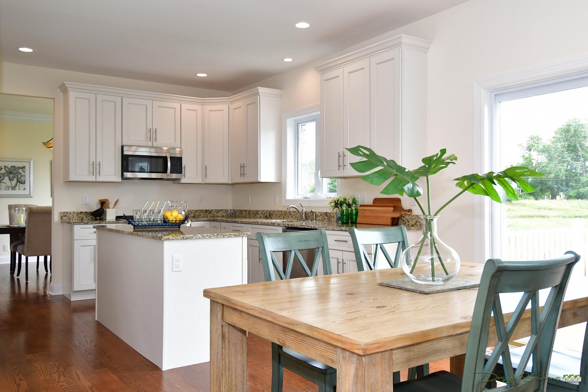 staged kitchen